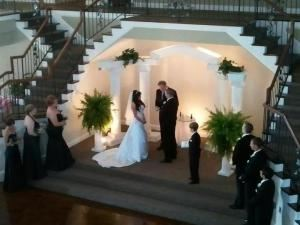 Platinum Bridal Splurge, Cookeville DJ 5 Diamond Productions, Cookeville — Ceremony Lighting