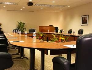 Executive Boardroom, Qwest Learning & Conference Center, Denver — Designed with success in mind, the Executive Board Room offers you advanced technology, a mini-business center and is supported by an on-site specialist to ensure well executed meetings.