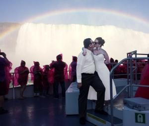 Maid of the Mist Wedding / Niagara Cruise Wedding, Niagara Weddings and More, Niagara Falls — What a shot!