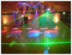 "Perfect Sounds DJ & Event Planner, Oshawa — Laser Show from our ""WOW Package"""