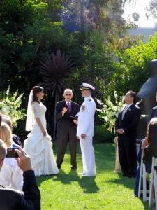 Officiant James W. Rury - La Mesa