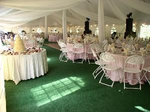 Cathedral Tent, Riverwood Inn & Conference Center, Monticello