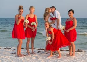 JM White Photography / Royal Beach Weddings