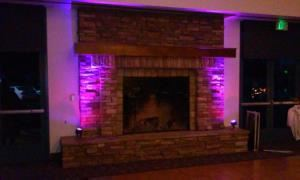 6 LED up lights, DPH Sound and Lighting, Antioch