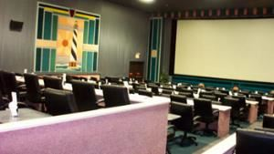 Mon-Fri Daytime Rental, Raleighwood Cinema Grill, Raleigh — Larger theater, capacity 200