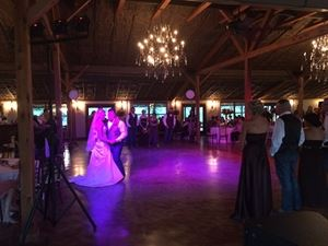All-Inclusive Package, Lonestar Productions, Goliad — Dance floor lighting.
