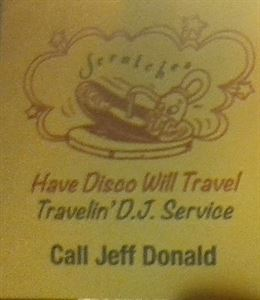 Scratches Travelin DJ Service