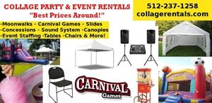 Collage Event and Party Rentals