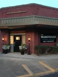 THE WAREHOUSE--an event venue, Hot Springs National Park — 2500 square feet of event space with heat and air, catering kitchen, restrooms, and plenty of lighted parking. Walking distance to the Austin Hotel. Call Pam Hill for more information or a tour of the venue. 501-538-0399 decorating services available . Staffing available.  Located in historical area of downtown Hot Springs.Great for receptions, rehearsal dinners, class reunions, dinners, sales meetings, etc
