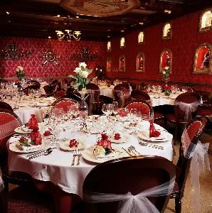 Red Room Private Dining Space, Columbia Restaurant Ybor City, Tampa