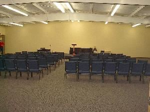 Sunset Point, Ozark Conference Center, Solgohachia — 3600 square foot special events center seating up to 335 theater or 250 banquet.  Perfect for day meetings and special events.  Basic audiovisual equipment available. 