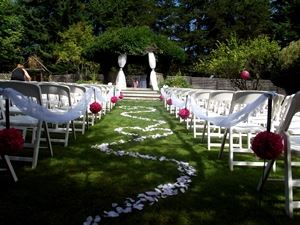 Whitley House B&B, Qualicum Beach — Ceremony Gazebo