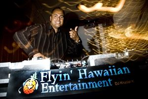 "DJ Krucial K (Kalani) ""The Flyin Hawaiian"" -Kelowna Wedding Specialist"