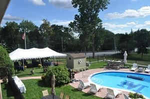 Pool Side, University Inn Academic Suites, Orono