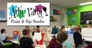 Arty Party Paint & Sip Studio