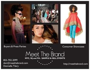 MEET THE BRAND EVENTS  - NYC, NJ, AND PA