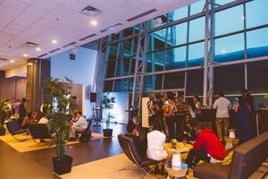 EA Sports Players Lounge, Redskins Special Events, Hyattsville — Evening reception