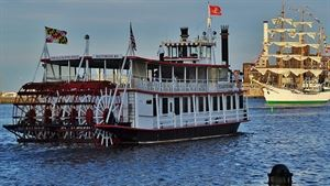 The Black Eyed Susan Paddle Wheel Dinner Boat