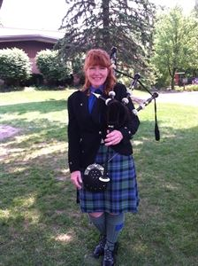 Bagpipe Mary