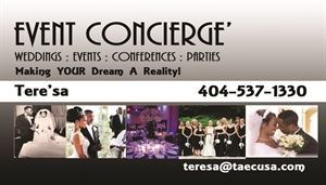 TEG, Jonesboro — Wedding, meetings, conference coordination and planning professionals
