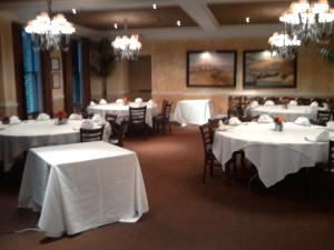 Toscano Room, BRIO Tuscan Grille, Columbus — Private space accommodateing up to 60 guests.