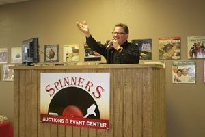 SPINNERS - AUCTIONS & SPECIAL EVENTS