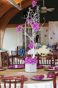 Decorating and Planner Services For You , Events by Tiffany J., Jacksonville — Custom Blinged-Out Branch Centerpiece