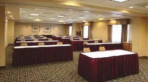 Banyan Room ABC, Holiday Inn Express & Suites Bluffton @ Hilton Head Area, Bluffton — Meeting space will accommodate up to 75 people classroom, theater or banquet style.