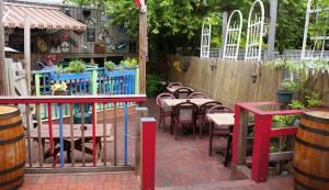 Private Garden Patio, The Lounge at Stan And Joe's, Annapolis