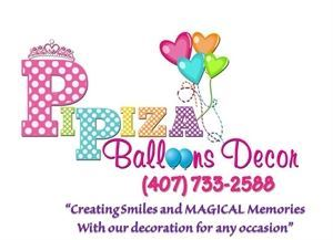 Pipiza Balloons Decor