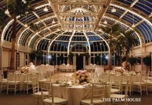 Palm House, Palm House At Brooklyn Botanic Gardens, Brooklyn — This unique Victorian setting is the replica of the original Garden Conservatory designed by McKim, Mead and White. A magical setting in an oasis of beauty just 3 miles from downtown Manhattan. Surrounding the Palm House are 52 acres of Gardens offering indefinite choices for your special occasion. The perfect setting for your wedding.