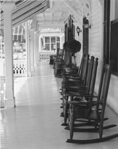 Porch, The Chalfonte Hotel, Cape May