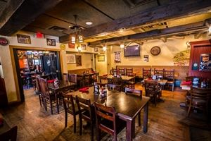Claddagh Irish Pub- Downtown, Columbus — The Claddagh room is the perfect room to have a special private event but still holding on to the authentic Irish pub character weather its a rehearsal dinner, birthday party, it can be set up formal sit down dinner or a causal buffet. No Room Charge