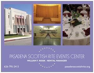 Pasadena Scottish Rite Events Center