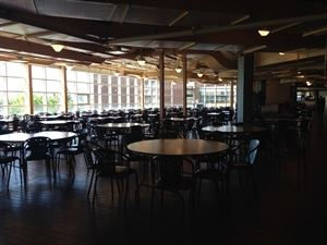 Cafeteria, St. Lawrence College Kingston, Kingston