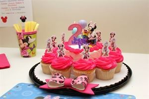 Event Photography Services - $75 per hour, 6th Sense Events, LLC, Charlotte — Girls Birthday Party - we took plain cupcakes and decorated it with the them of the party.
