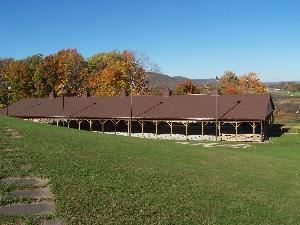Outdoor Pavilion, Canaan Valley Resort State Park, Davis — Outdoor Pavilion - perfect for those evening dinners or afternoon BBQ's. Dances, weddings, the sky's the limit with this meeting area.