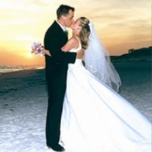 Wedding Area, Beach Walk Crystal Beach, Destin — Beach Walk Crystal Beach - Sunset Beach Wedding