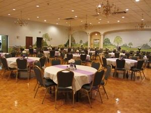 Buffet Package, Minquadale Memorial Hall, New Castle