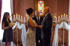 An Evening Ceremony With Dinner Reception Package Starting At $2500, Historic Webster House Bed and Breakfast, Bay City