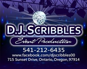 DJ Scribbles Event Production
