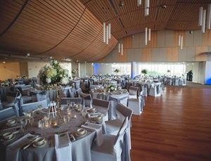 Dinner Menu Package, Saint Peter's University, Jersey City — The architectural design of the space sets a beautiful background for weddings, galas and more formal events.