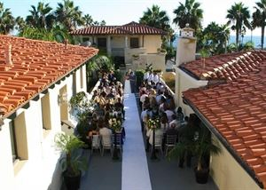 Ceremony Package, The Balboa Inn, Newport Beach