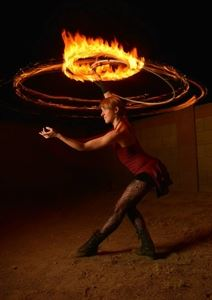 Jessica Packard, Hula Hoop & Fire Dancer