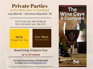 The Wine Cave & Courtyard