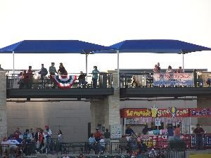 Party Porch, Dell Diamond, Round Rock