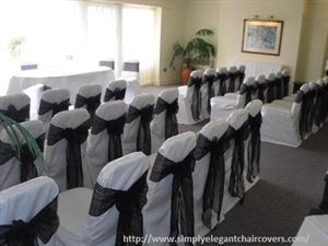 Simply Elegant Chair Covers and Linens