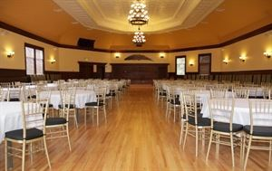 The Feather Ballroom At The Historic Eagle Building