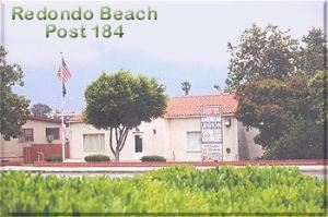 American Legion Post 184, Redondo Beach — On Camino Real between Torrance Blvd. & Pearl Street.