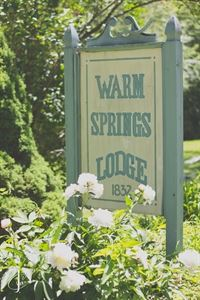 Warm Springs Lodge